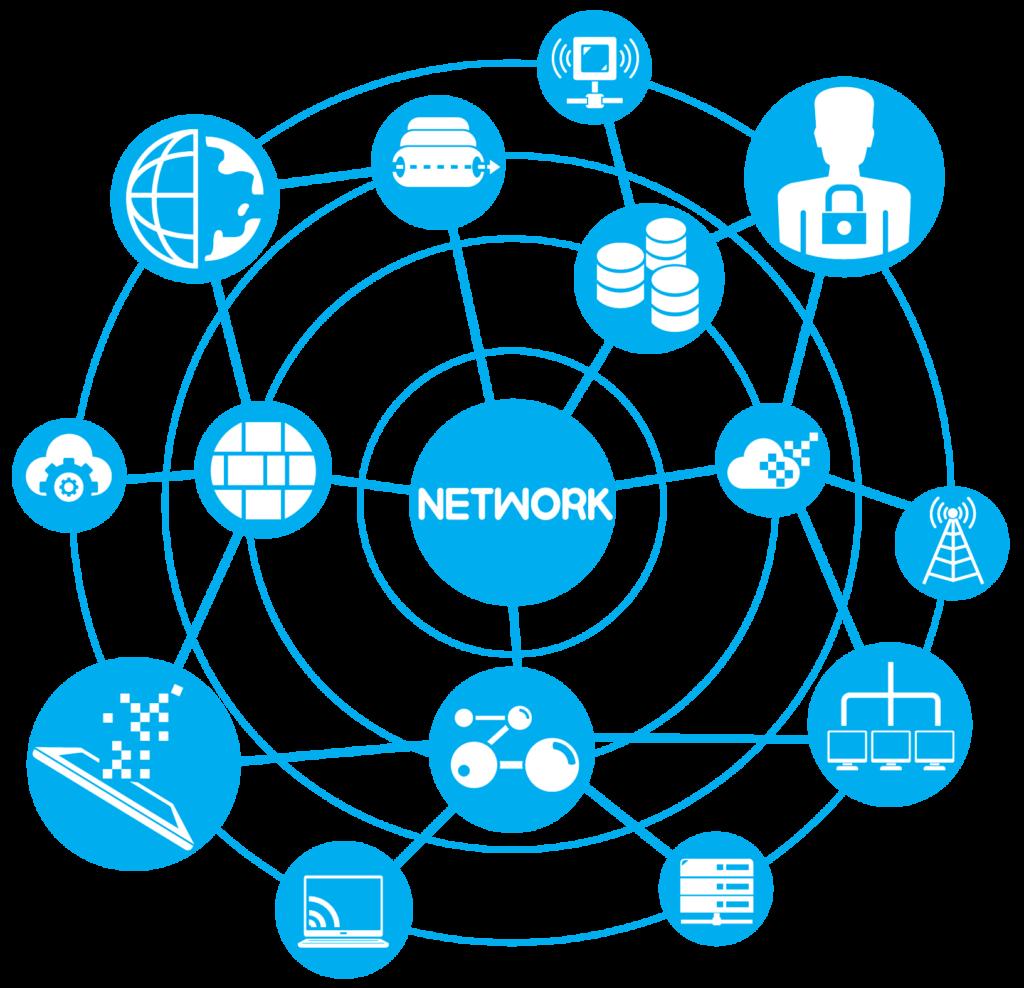انواع خدمات زیرساخت شبکه