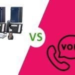 تفاوت voip و سانترال
