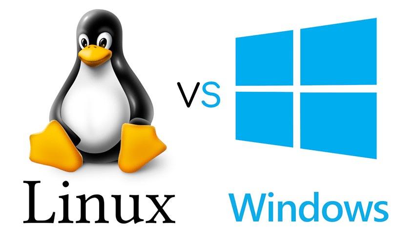 مقایسه لینوکس و ویندوز