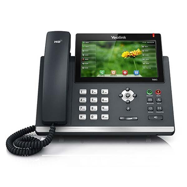 تلفن-تحت-شبکه-yealink-مدل-t48G